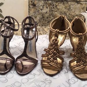 2 shoes Tory Burch and Camilla skovgaard